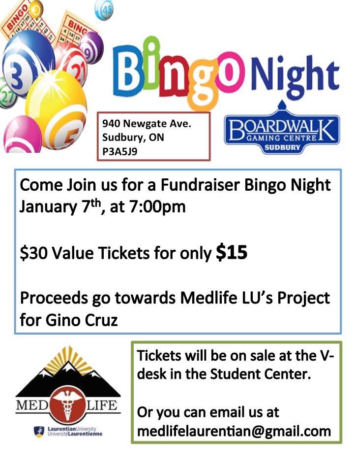Kindergarten Calendar Art : Bingo night fundraiser entertainment sudbury