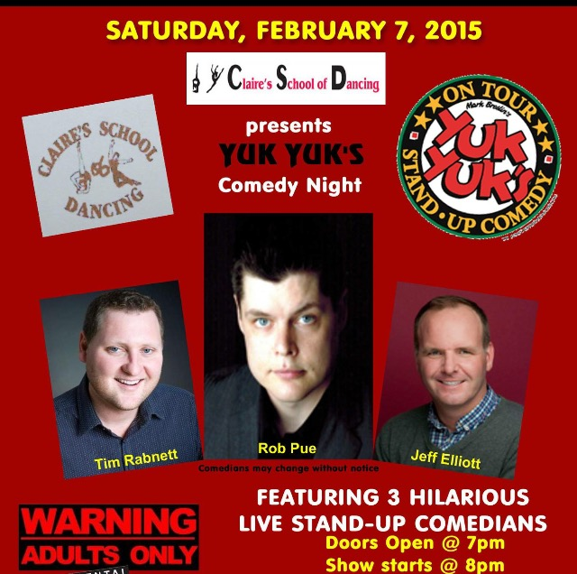 event comedy night february