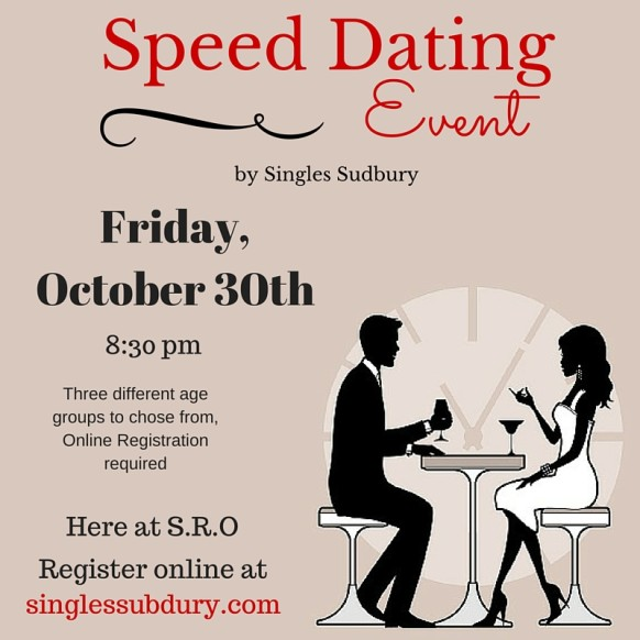 Speed dating conference