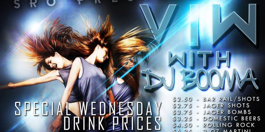 V.I.W Cheapest Drinks in Town at The S.R.O Nightclub